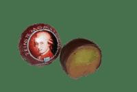 WENSCHITZ - Wenschitz – Mozart Kugel 10 Stück - Gefüllte Praline mit Haselnuss-Nougat & Pistazien-Marzipan-Creme