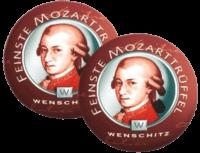 WENSCHITZ - Wenschitz – Mozart Trüffel 10 Stück - Praline aus weißer Schokolade und Zartbitter-Schokoladenkuvertüre