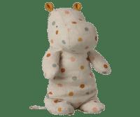 MAILEG - Maileg Safari Friend – Hippo Multi Dot, medium