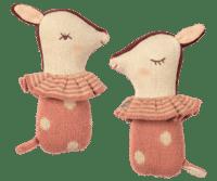 MAILEG - Maileg Bambi Rassel – Sleepy/Wakey Rosa