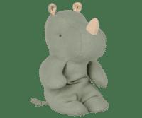 MAILEG - Maileg Safari Friends – Rhino, klein - Dusty green