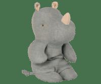 MAILEG - Maileg Safari Friends – Rhino, klein - Blau