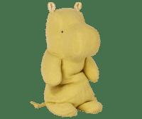 MAILEG - Maileg Safari Friends – Hippo, medium - Gelb