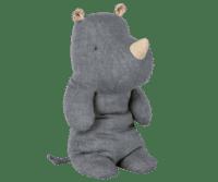 MAILEG - Maileg Safari Friends – Rhino, medium - Blau