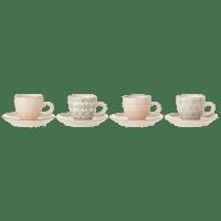 Bloomingville - Cécile Espresso Tasse – 4er Set