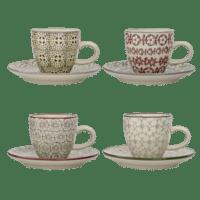 Bloomingville - Karine Espresso Tasse – 4er Set