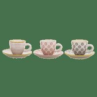 Bloomingville - Susie Espresso Tasse – 3er Set