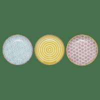 Bloomingville - Patrizia Teller, klein – 3er Set