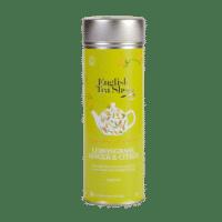 English Tea Shop - Zitronengras, Ingwer, Zitrus – BIO Tee - 15 Pyramiden-Beutel in Dose