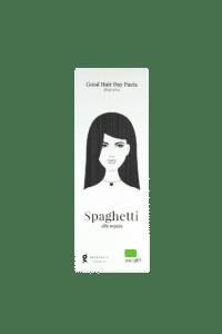 GREENOMIC - Good Hair Day Pasta- BIO Spaghetti alla seppia - Spaghetti mit Tintenfischtinte