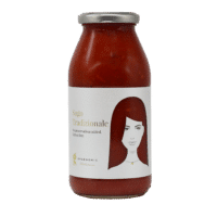 GREENOMIC - Good Hair Day Sugo – Tradizionale - Tomatensoße mit Oliven und Kapern.