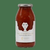 GREENOMIC - Good Hair Day Sugo – Ai Funghi Porcini - Tomatensoße mit Steinpilzen.
