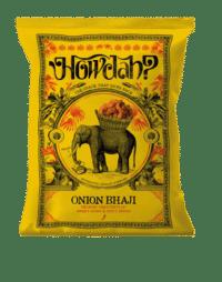 HOWDAH - Onion Bhaji – Knabbergebäck – VEGAN - Zwiebel-Kurkuma-Chili Gebäck