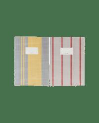 MONOGRAPH - Notizheft, Klein – Grau/Gelb - im 2er Set