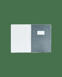 MONOGRAPH - Notitzheft, Groß – Asphalt/Weiß - im 2er Set
