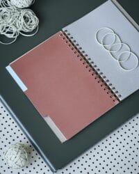 MONOGRAPH - Notizbuch, Groß – Grau - 1 Stück