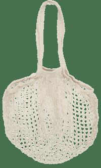 IB-LAURSEN - IB Laursen – Netztasche, Beige - 100% Baumwolle