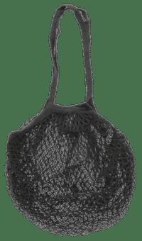 IB-LAURSEN - IB Laursen – Netztasche, Schwarz - 100% Baumwolle