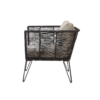 Bloomingville - Bloomingville – Mundo Lounge Chair, Beige - aus Metall