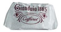 CAFFAREL - Gianduia-Pralinen Zartbitter - im 20er Pack