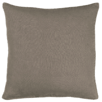 IB-LAURSEN - IB Laursen – Kissenhülle, Deep Taupe - aus 100% Leinen, 50x50cm