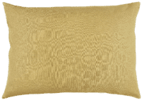 IB-LAURSEN - IB Laursen – Kissenhülle, Senfgelb - aus 100% Leinen, 50x70cm