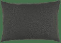 IB-LAURSEN - IB Laursen – Kissenhülle, Anthrazit - aus  100% Leinen, 50x70cm