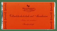 DOLCI PENSIERI - Vollmilchschokolade mit Mandarinen - Handgeschöpfte Vollmilchschokolade
