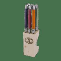 - 6 Steakmesser – London Set - in Holzblock