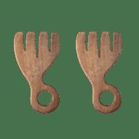 Bloomingville - Salat Besteck – 2er Set - aus Akazienholz