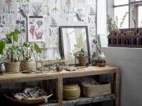 Bloomingville - Bloomingville – Reuben Regal, Braun aus recyceltesm Holz - L183xH86,5xW53,5 cm