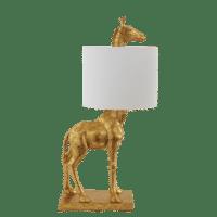 Bloomingville - Bloomingville – Silas Tischlampe, Gold - D28xL35xH70 cm