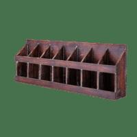 Bloomingville - Bloomingville – Nilo Weinregal, Braun aus Tannenholz - L74xH26,5xW11 cm