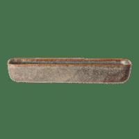 Bloomingville - Aime Servierplatte – Braun - Schmale Servierplatte