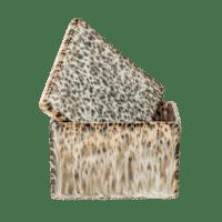 Bloomingville - Aufbewahrungsdose mit Deckel, groß