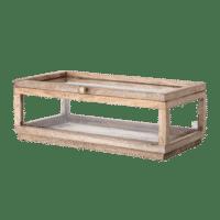 Bloomingville - Bloomingville – Abigaile Aufbewahrungsbox, Natur aus Mangoholz - L38xH14xW20,5 cm