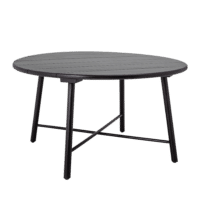 Bloomingville - Bloomingville – Lope Esstisch, Schwarz aus Akazienholz - D140xH75 cm