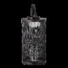 Bloomingville - Bloomingville Lanterne, Schwarz - aus Bambus mit Glas