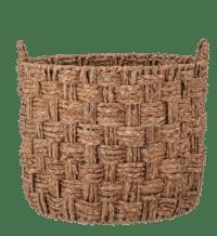 Bloomingville - Bloomingville – Kasia Korb Rund – groß aus Seegras - D55xH51 cm
