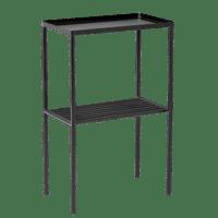 Bloomingville - Bloomingville – Grid Beistelltisch Schwarz, Metall - L50xH80xW30 cm