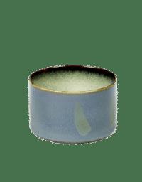 ANITA LE GRELLE - SERAX - ANITA LE GRELLE –  Becher Zylinder Niedrig, Smokey Blue/Misty Grey - D7,5 x H7,5 CM