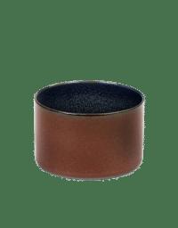 ANITA LE GRELLE - SERAX - ANITA LE GRELLE –  Becher Zylinder Niedrig, Rust/Dark Blue - D7,5 x H7,5 CM