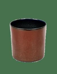 ANITA LE GRELLE - SERAX - ANITA LE GRELLE –  Becher Zylinder Hoch, Light Blue/Smokey Blue - D7,5 x H7,5 CM