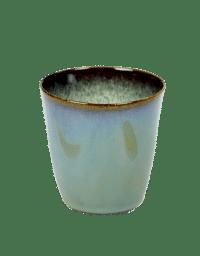 ANITA LE GRELLE - SERAX - ANITA LE GRELLE –  Becher Small, Smokey Blue/Misty Grey - D7 x H7,5 CM