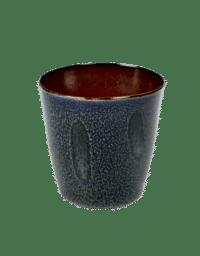 ANITA LE GRELLE - SERAX - ANITA LE GRELLE –  Becher Small, Dark Blue/Rust - D7 x H7,5 CM