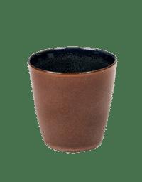 ANITA LE GRELLE - SERAX - ANITA LE GRELLE –  Becher Small, Rust/Dark Blue - D7 x H7,5 CM