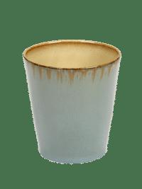 ANITA LE GRELLE - SERAX - ANITA LE GRELLE –  Becher Medium, Smokey Blue/Misty Grey - D8,5 x H9,5 CM