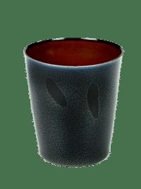 ANITA LE GRELLE - SERAX - ANITA LE GRELLE –  Becher Medium, Dark Blue/Rust - D8,5 x H9,5 CM