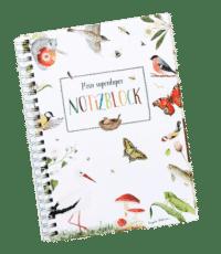 BRIGITTE BALDRIAN - Notizblock - mit Naturillustrationen