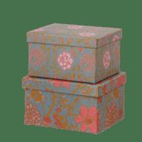 BUNGALOW - Geschenkbox Sitapur Midnight - 2er Set